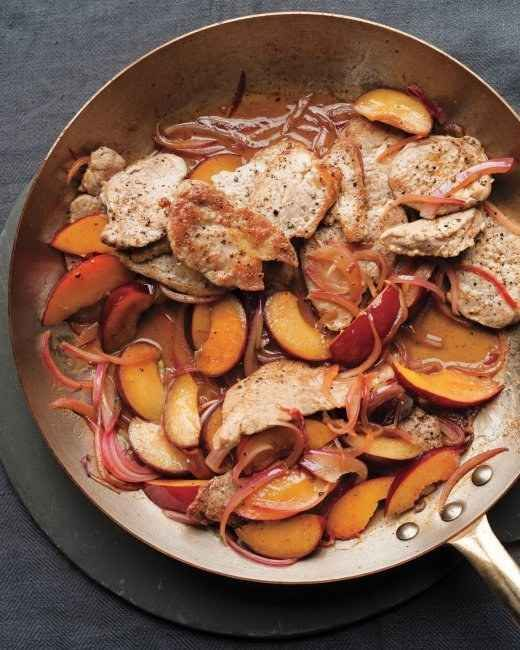 Glazed Pork with Fresh Plums | 27 Delicious Paleo Recipes To Make This Summer