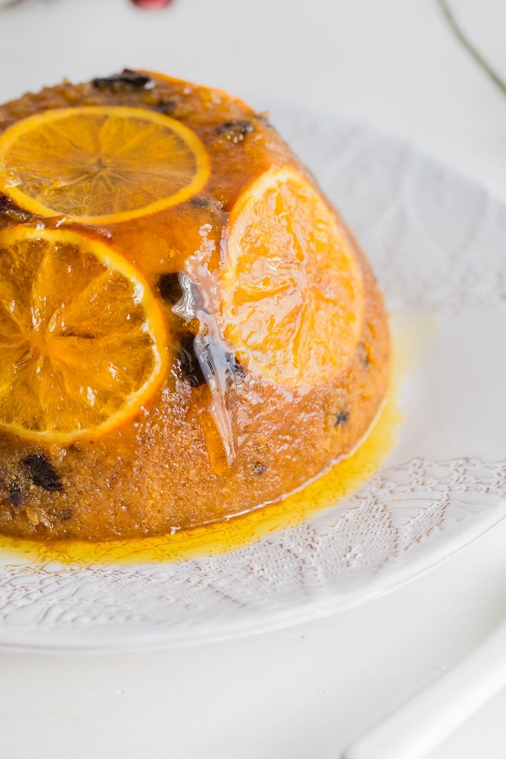This luxurious steamed sponge pudding recipe is the perfect solution for those who find the classic Christmas pudding a tad too heavy.