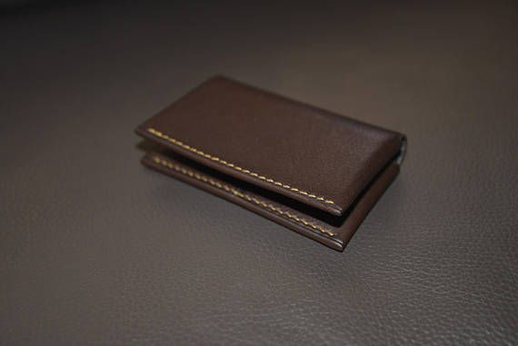 Check out this item in my Etsy shop https://www.etsy.com/listing/564695373/bifold-leather-wallet-card-holder