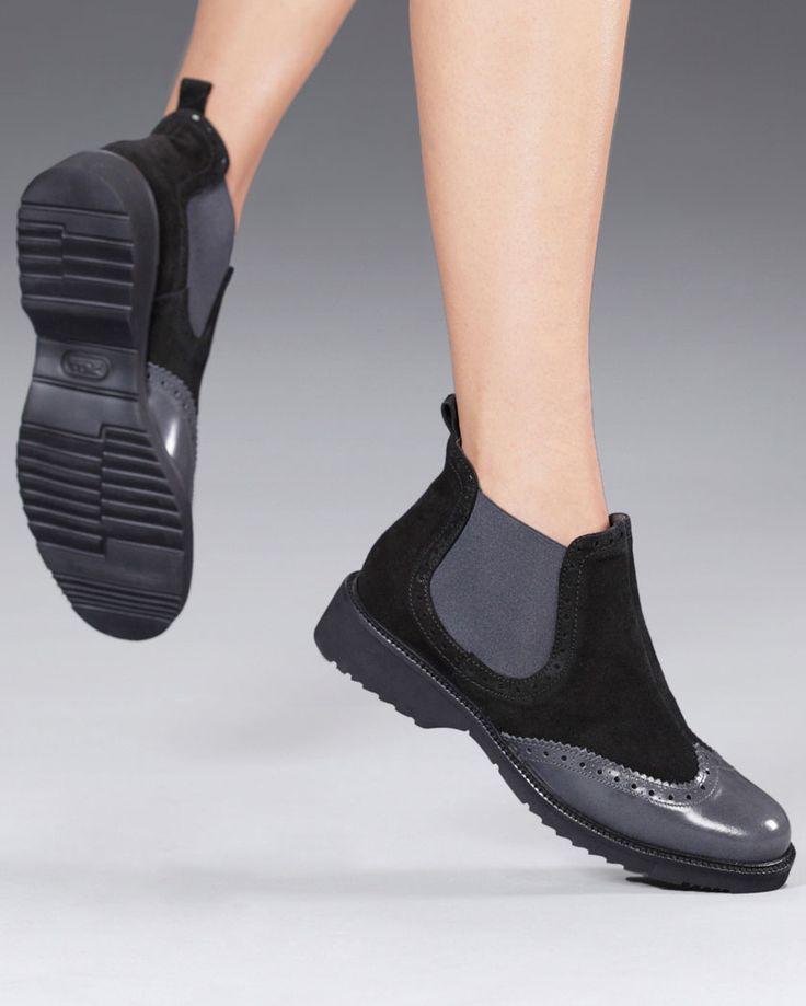 """""""Chelsea Boots"""" con detalles estilo """"Oxford"""". El mejor complemento para tus looks esta temporada. Descubre más modelos en www.gadeawellness.com"""