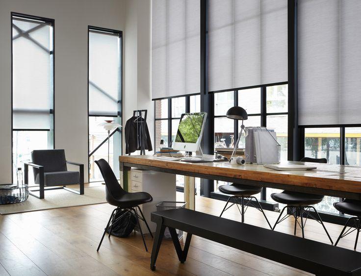 #interior #window #decoration #windowdecoration #design #modern #dining #diningroom #wood #table #white #minimalistic