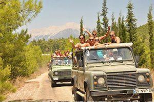 jeep safari tour in antalya