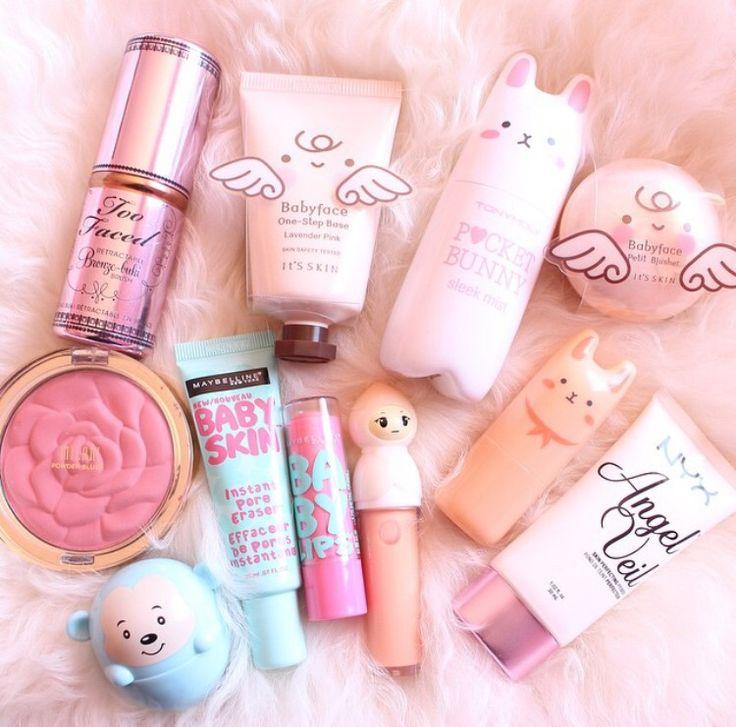 #cosmetics #beauty #makeup #products #nyx #tonymoly #toofaced #cute