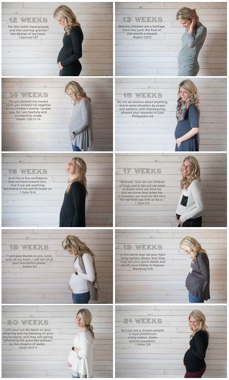 Baby Bible Verses + Bump Pictures - Watch baby Willow grow!