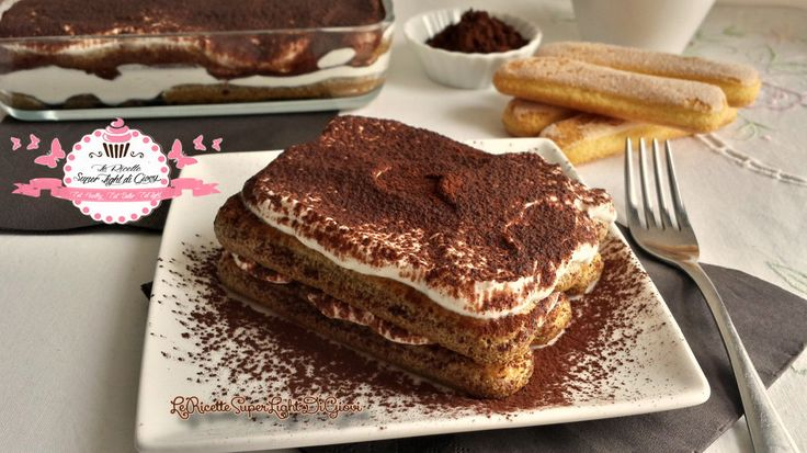 Tiramisù super light (138 calorie)