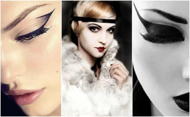 Makijaż lata 20 - czy wciąż w modzie? #makijaż #damski makijaż #makijaż lata 20 #lata 20