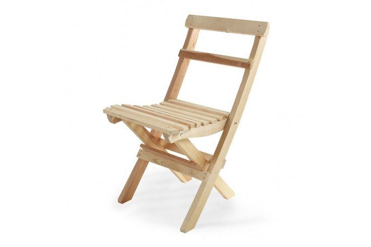 Gammeldags stol - Obehandlad furu från Brafab - Köp online eller i butik
