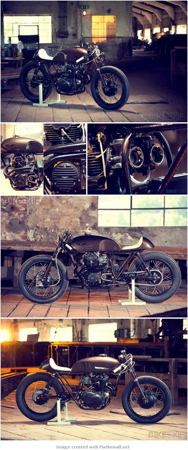 HONDA CB CAFE RACER BY EXESOR - created via http://pinthemall.net