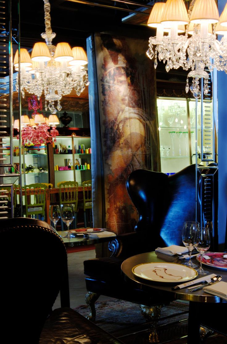 Lan Restaurant, Beijing by Philippe Starck