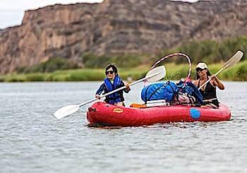 Hooping the Orange River in Africa | Hooping.org