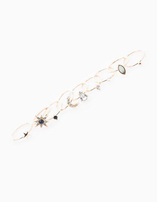 Da Stradivarius troverai 1 Set 9 anelli sottili stelle donna per soli 7.95 € . Entra ora e scoprilo insieme a ANELLI.