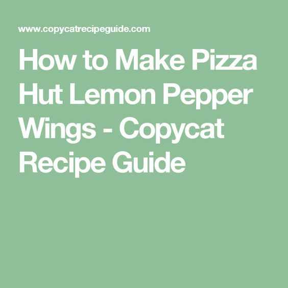 how to cook lemon pepper wings