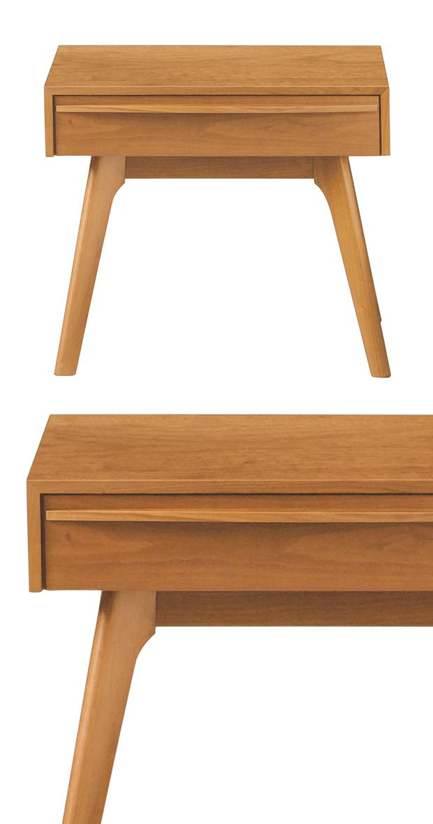 Embrace your inner designer with the Warwick Cherry Nightstand. It offers a minimalist profile with sleek accents including an edge-to-edge vertical drawer pull and angled legs. You're already envision...  Find the Warwick Cherry Nightstand, as seen in the Bedroom Refresh Sale: Dressers & Nightstands Collection at http://dotandbo.com/collections/january-bedding-sale-dressers-and-nightstands?utm_source=pinterest&utm_medium=organic&db_sku=117788