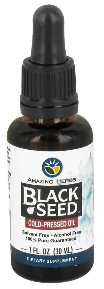 Save on Black Seed Cold-Pressed Oil by Amazing Herbs and other Black Seed Oil          and BPA-Free remedies         at Lucky Vitamin. Shop online for Herbs, Amazing Herbs items, health and wellness products at discount prices.