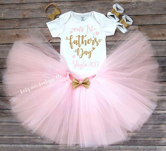 Outfit del día de padres Padres de nuestro primer día Vestido