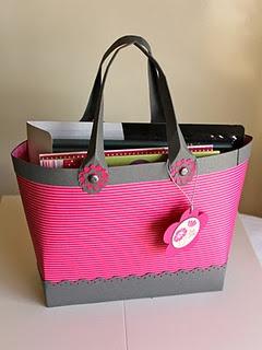 Stampin' Up gift bag