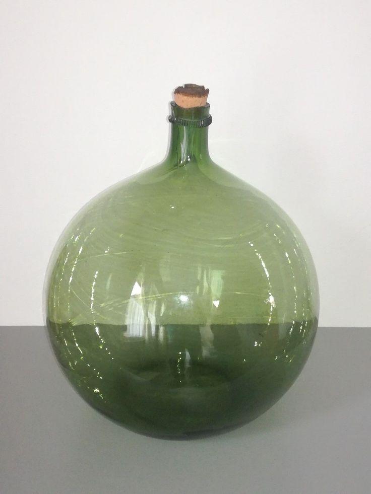 Ancienne Dame Jeanne bonbonne en verre soufflé Hauteur env 42 cm | Art, antiquités, Objets du XXe, récents | eBay!