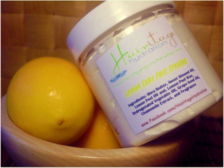 Lemon Cake Face Frosting - every time I put it on I think about licking my face for the next hour....