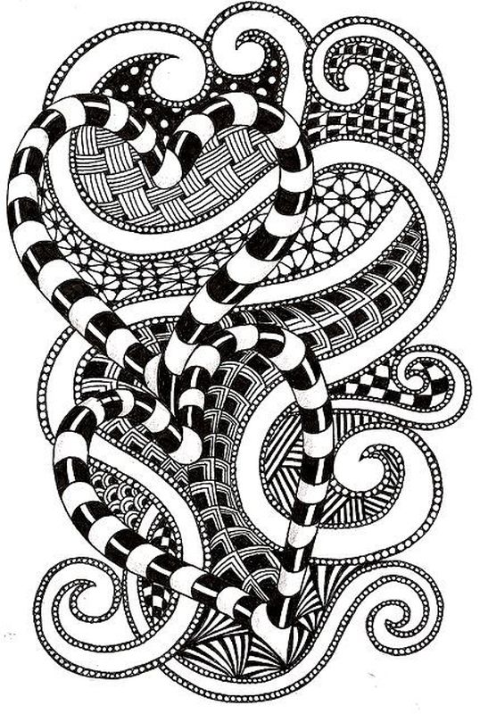 difficult heart tunnel design abstract coloring pages for adults - Coloring Pages Difficult Abstract