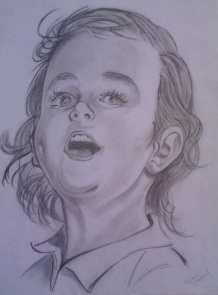 Portrait of a child.