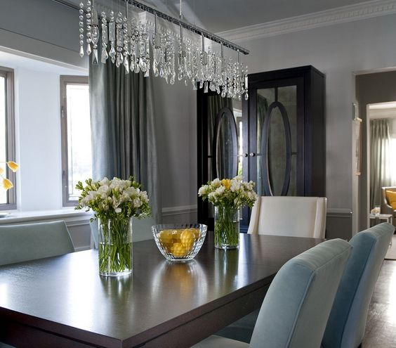 Best 25 modern crystal chandeliers ideas on pinterest modern chandelier modern chandelier - Dining room crystal chandelier ...