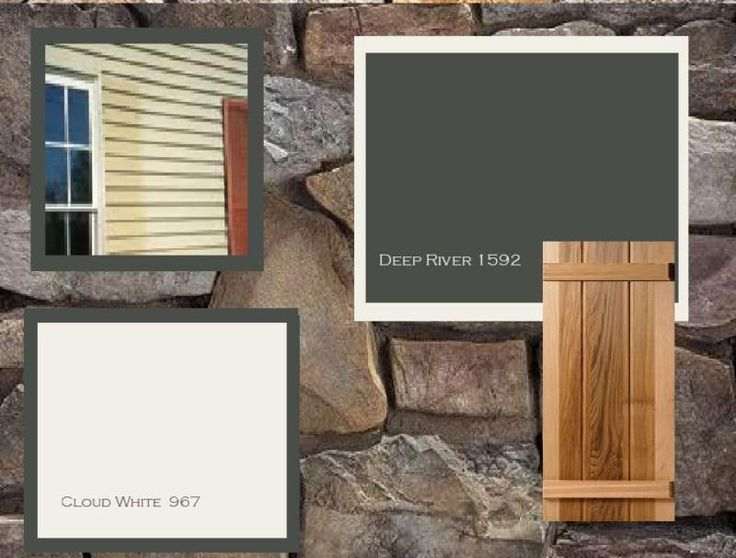 Roof and House Color Combinations | Two Awesome House Color Schemes Revealed - A Ranch House in Oregon
