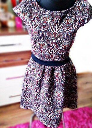 Kup mój przedmiot na #vintedpl http://www.vinted.pl/damska-odziez/krotkie-sukienki/17346187-nowa-sukienka-naf-naf-paris-roz-s-m