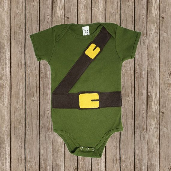 Hey, I found this really awesome Etsy listing at https://www.etsy.com/listing/116721121/link-baby-bodysuit-legend-of-zelda