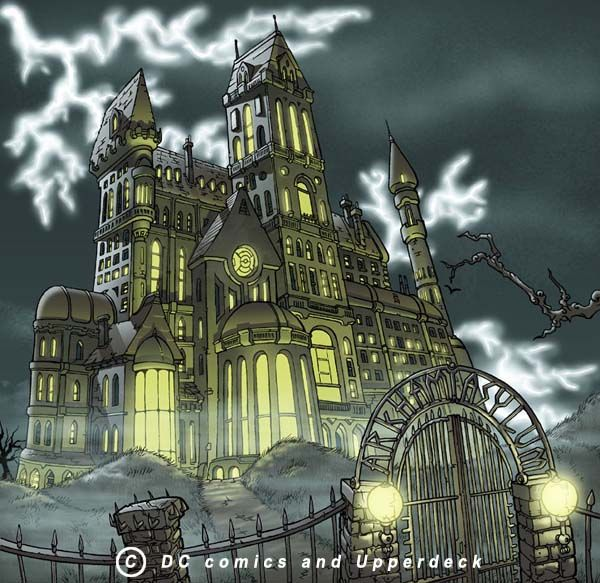 batman arkham asylum building - Google Search