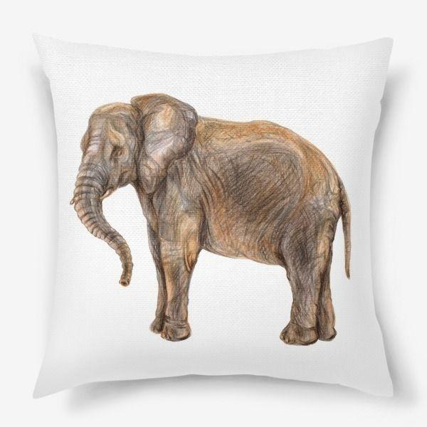 Подушка «Африканский слон»