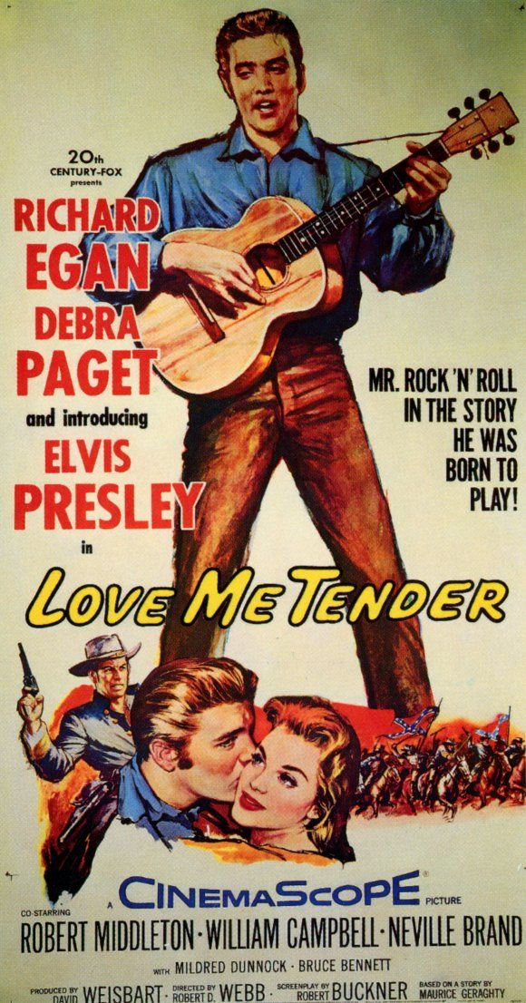 "Introducing ""Elvis Presley"" Elvis Presley Movie Reproduction Posters"