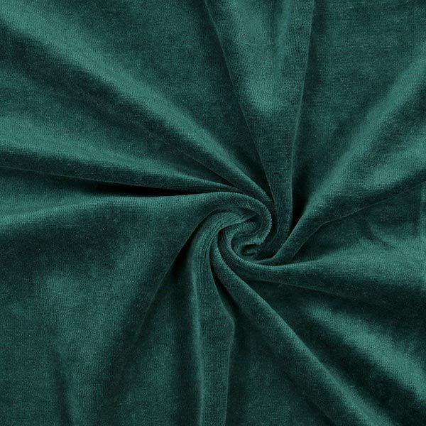 Nicki Stoff Uni – dunkelgrün