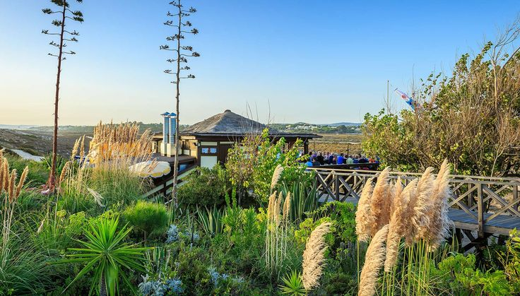 GiGis Restaurant -Located on the sand dunes, the wooden house sits on a stretch of white sand and boasts idyllic views of Ria Formosa National Park. - Quinta do lago - Algarve