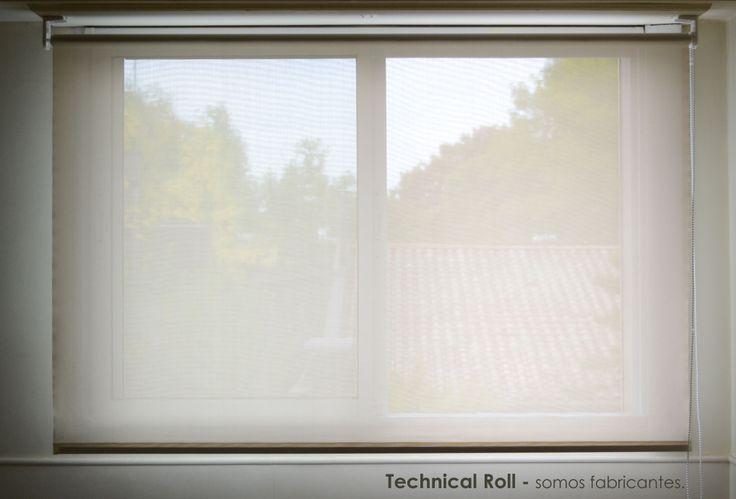 Sun Screen natural (Clinica Gúemes - Lujan) Cortinas roller - Technical Roll