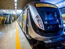 JO Rio 2016 J-4 : le métro olympique inauguré après six ans de travaux...