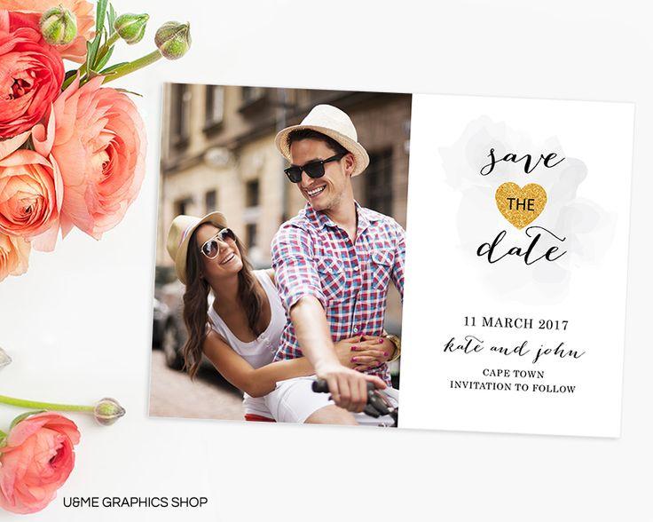 Photo Save The Date / U&Me Graphics