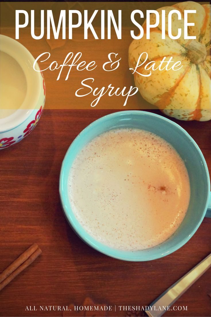 This homemade and all natural Pumpkin Spice Latte and Coffee syrup takes less than 10 minutes to make and can transform every beautiful fall morning into something indulgent!