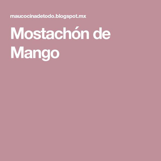 Mostachón de Mango