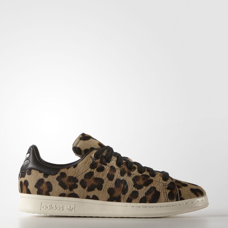 Stan Smith Shoes - Leapord Pony Hair, by Adidas