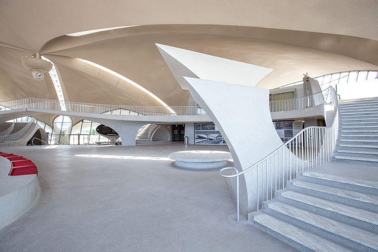 Photographer Max Touhey Gives a Rare Glimpse Inside Eero Saarinen's TWA Flight Center,© Max Touhey for Curbed NY