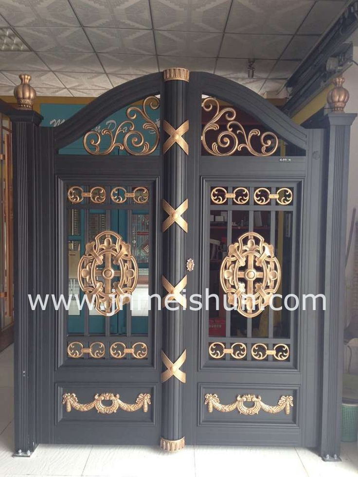 Best 25 main gate design ideas on pinterest main gate Front door grill designs india