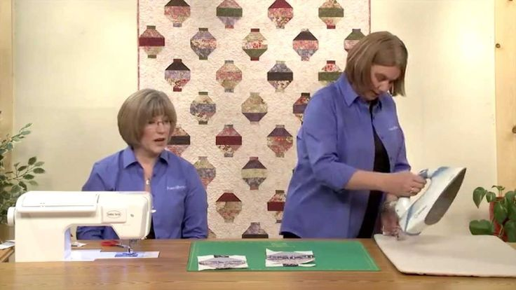 http://video.fonsandporter.com: The Fons & Porter staff shows you how to create the Japanese Lanterns quilt featured in Quilting Quickly Spring 2014. To find...