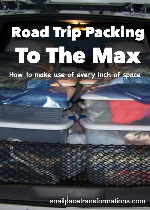 Going on a road trip? Make use of ever square inch of your vehicle space with these tips. Getting to your vacation destination just got more comfortable.