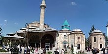 Mevlana Museum - Rumi Mausoleum  Konya Turkey - home of the Whirling Dervish