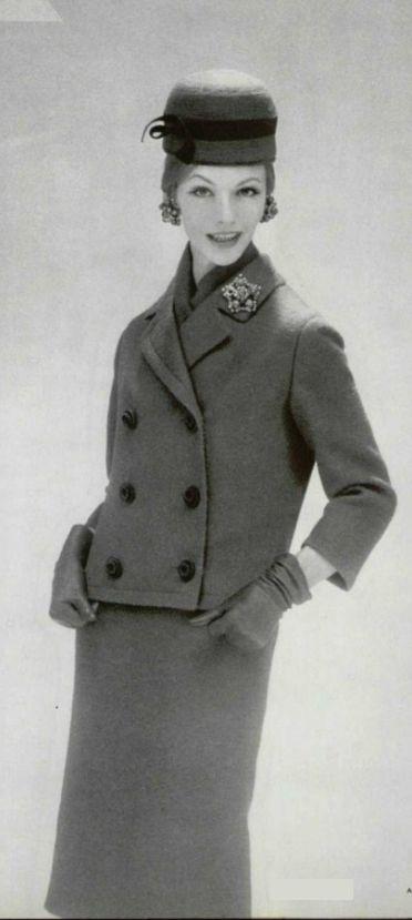 1959- Yves Saint Laurent for Christian Dior suit