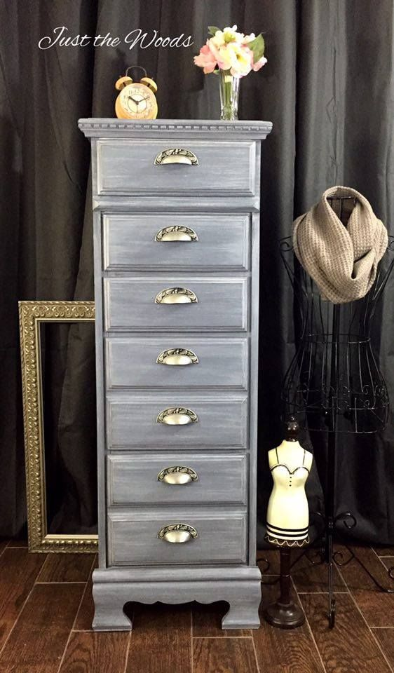Great Vintage Lingerie Chest, Painted Furniture, Staten Island, Nyc, Nj, Hand  Painted