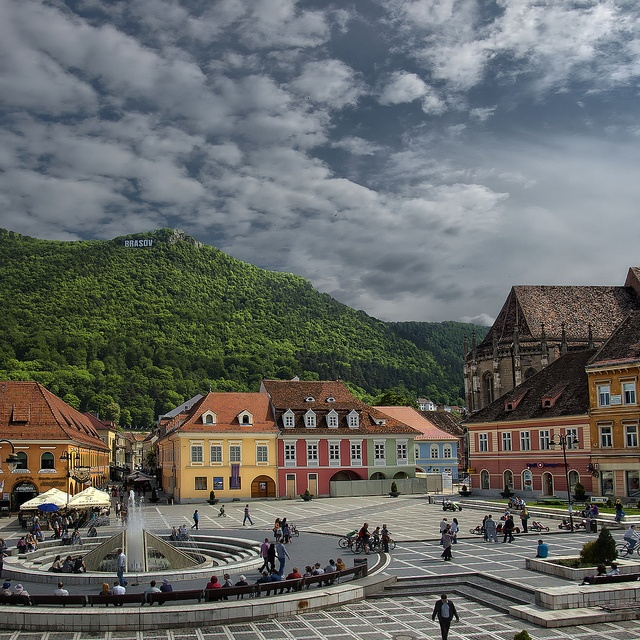 Top Places To Visit Romania: 29 Best Homesick... Brasov, Romania Images On Pinterest