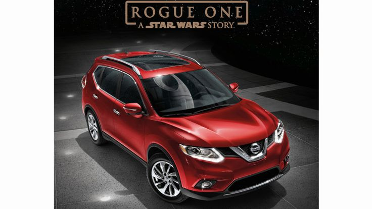 The Nissan Rogue One: A Star Wars Story Rogue Special Edition, coming soon to a dealer near you (probably). www.imperionissangardengrove.com