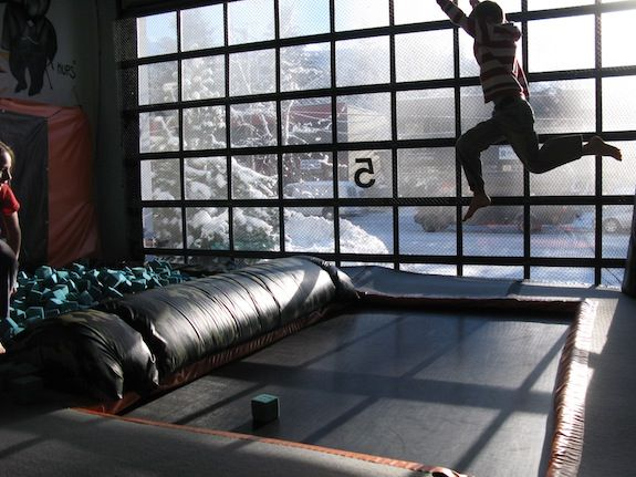 whistler, canada- indoor trampoline park @ bounce acrobatic academy.. do they have an adult jump hour?