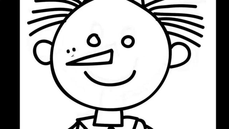 How to draw Pinocchio